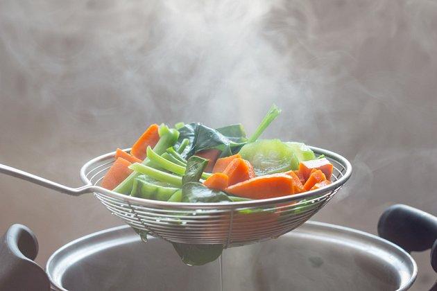 Ohřívání tepelně upravené zeleniny není vhodné.