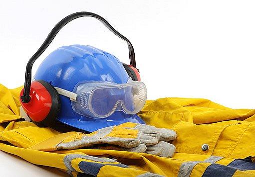 pracovní oděv a ochranné pomůcky