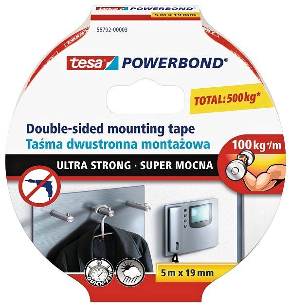 Extra silná zátěžová páska tesa Powerbond Ultra Strong
