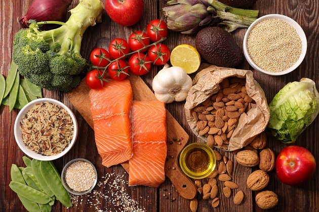 Zdravá strava by měla být pestrá.