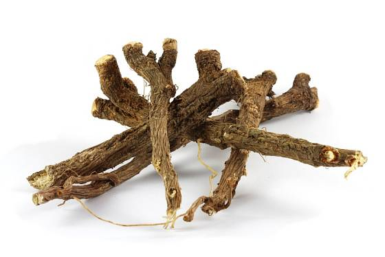 Sušený kořen čekanky obecné se prodává od označením Radix cichorii.