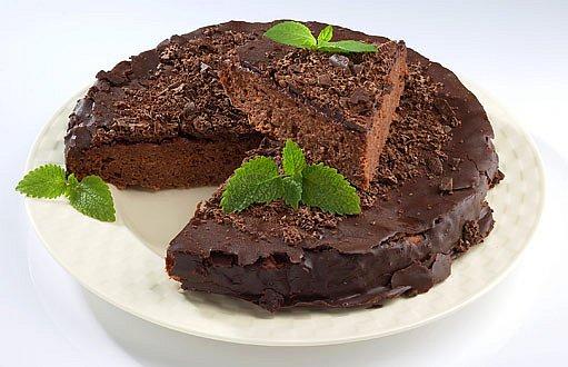 kakaový dort