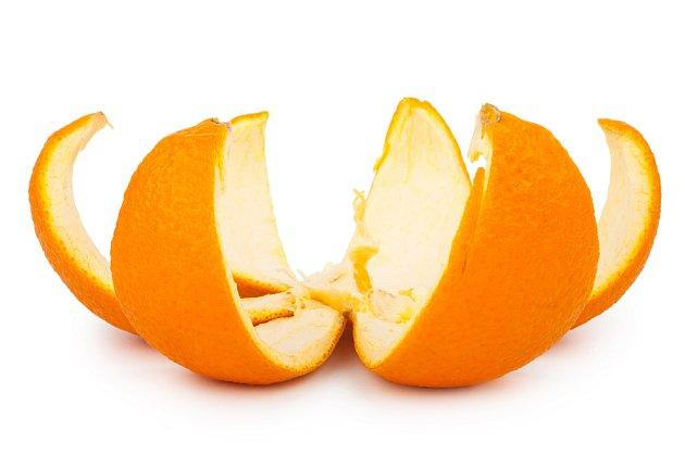 Pomerančová kůra krásně voní