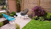 Terasa v zahradě by měla sloužit hlavně k relaxaci.