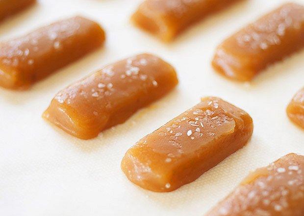Smetanové karamelky