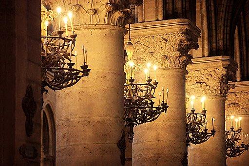 svíčky byly kdysi jediným zdrojem světla