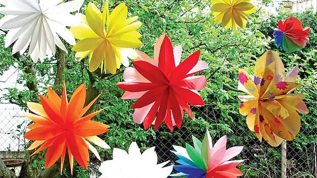 3D květiny