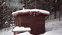 srubová sauna