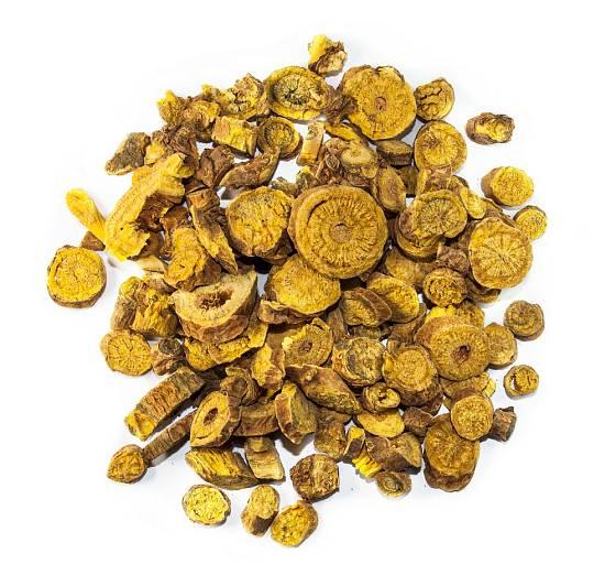 Šišák bajkalský - sušený kořen.