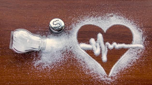 Nadměrná konzumace soli ohrožuje zdraví
