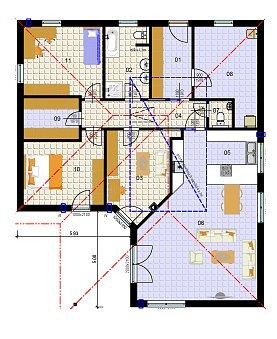 Plán domu.