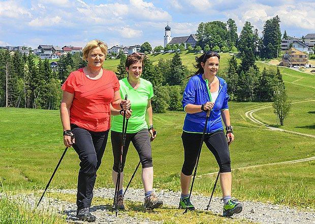 Nordic walking -  severská chůze