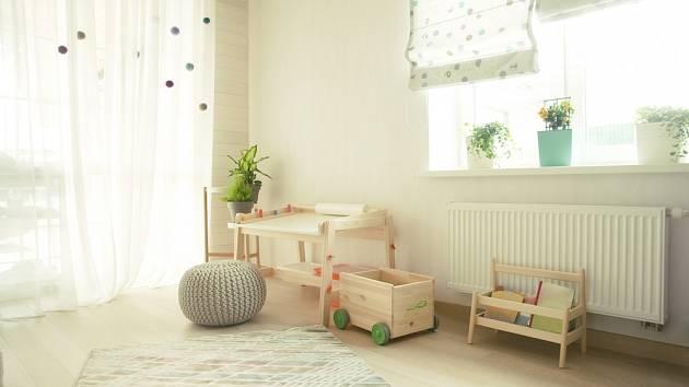 Do dětského pokoje vybírejte rostliny pečlivě.