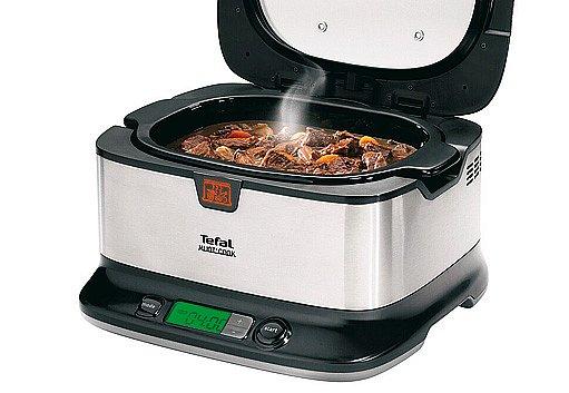 Parní hrnec  Tefal Mijot' Cook zajistí velmi pomalé dušení pokrmů bez dozoru.