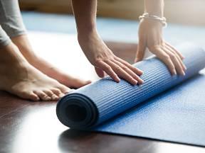 Pro cvičení je důležitá vhodná podložka