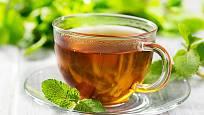 Mátový čaj uklidní podrážděný žaludek
