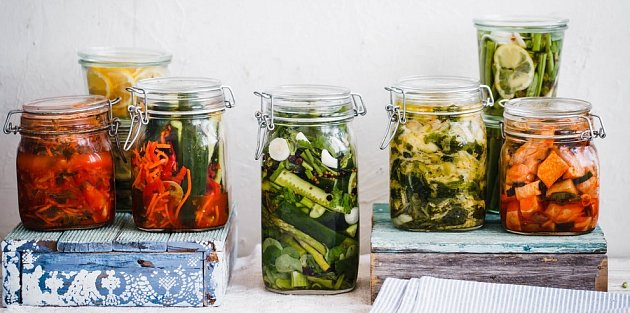 Při výrobě pickles můžete využít nejrůznější druhy zeleniny