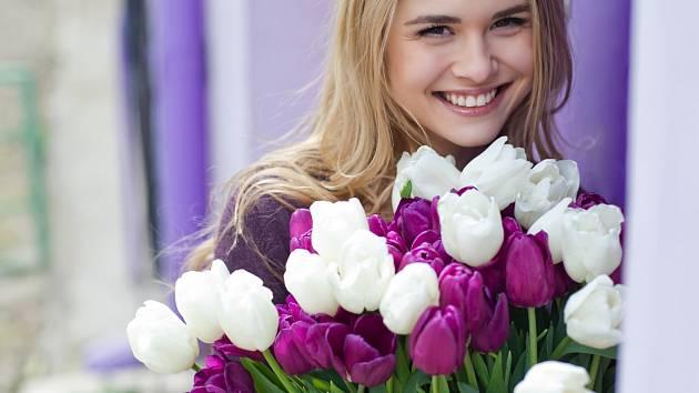 Tulipány jsou jedněmi z nejoblíbenějších jarních květin.