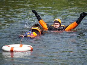 Moskevský vodní pes - toto plemeno se pro záchranářské práce neosvědčilo a tak byl chov ukončen. (Ilustrační snímek)