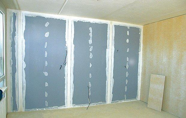 modrá akustická deska Rigips