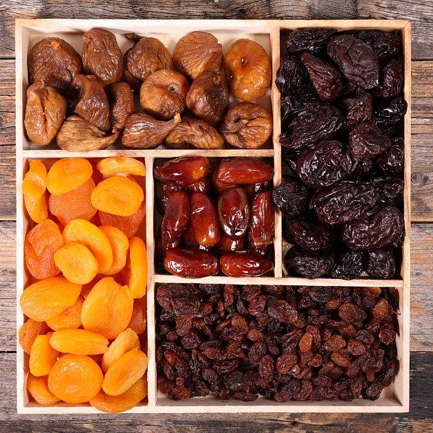 Sušené ovoce obsahuje 3–5krát více mikroživin než čerstvé ovoce