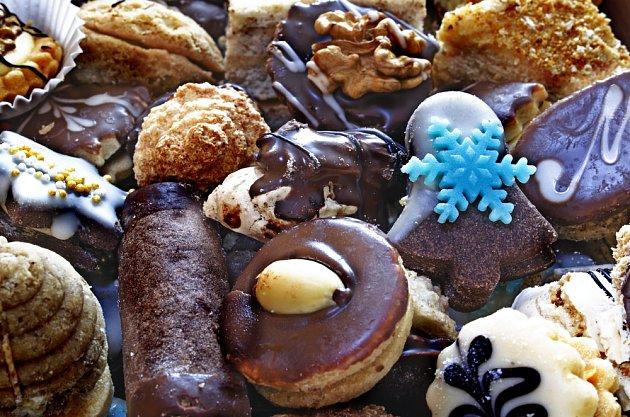 pestrý svět vánočního cukroví
