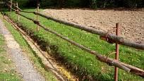 Rustikální ohrada jako oplocení
