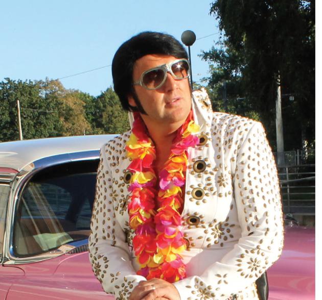 Elvis Presley v podání Vladimíra Lichnovského