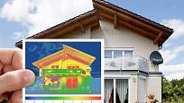 Pohlédněte na dům očima termovize
