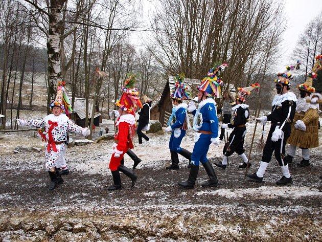 Masky z Vortové na Veselém Kopci.