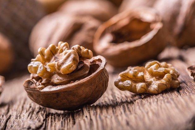 Síla skořápky má vliv na trvanlivost i zpracování ořechů