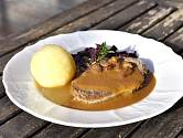 Bramborový knedlík - Kartoffelknödel