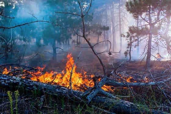 Rozšíření ohně může skončit požárem