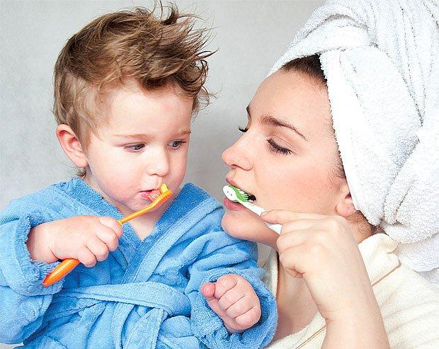 dětský zubní kartáček
