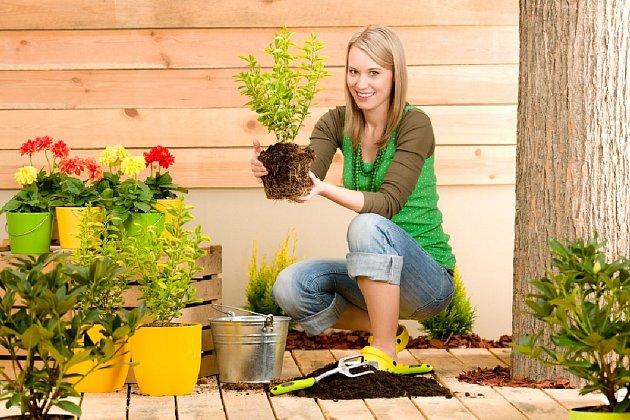 S bakterií štěstí se můžete setkat i při zahradničení na terase.