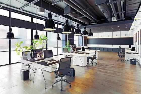 V kancelářích se používají ve velké míře umělé materiály