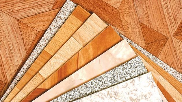 PVC existuje v široké škále barev a vzorů.