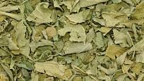 Sušené listy mučenky pletní (Passiflora incarnata).