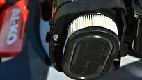 Čistý vzduchový filtr znamení menší spotřebu paliva.