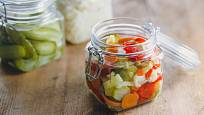 Kvašená zelenina dodá vitamíny
