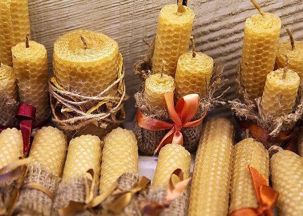 Voňavé savíčky ze včelího vosku