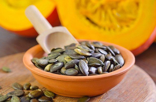 Dýňová semínka jsou bohatá na minerály