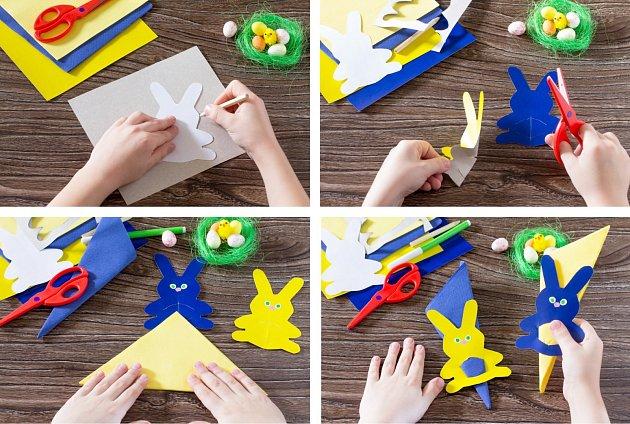 Zajíc na velikonoční stůl udělá radost dětem i dospělým.