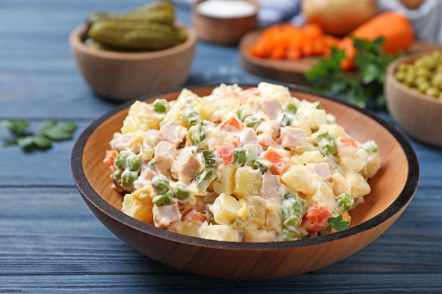 Bramborový salát, lahodná sváteční příloha