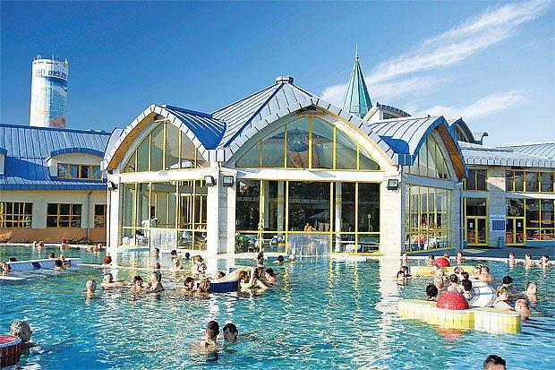 termální lázně v Maďarsku