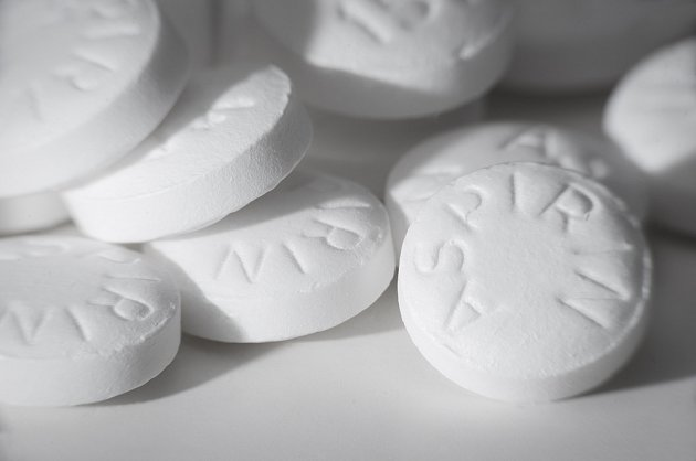 Tablety aspirinu