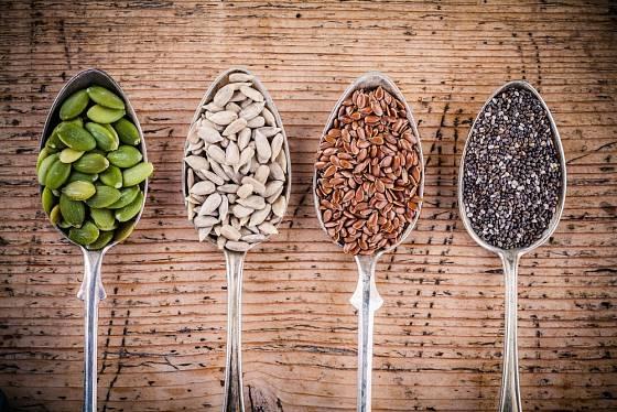 Semínka jsou podceňovaným zdrojem zdraví.