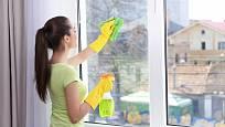Dokonale vyleštěná okna umocní příjemný dojem z navštíveného bytu.