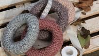 Polystyrenové korpusy jsou vhodné na obalování pleteninou.