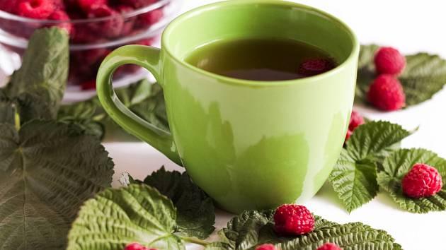 Maliník čaj